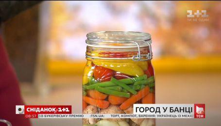 Украинско-итальянские пикули от Дарьи Дорошкевич