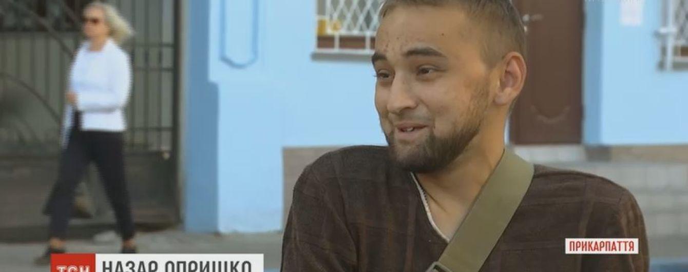 Захисник Донецького аеропорту Назар Опришко змушений просити допомоги