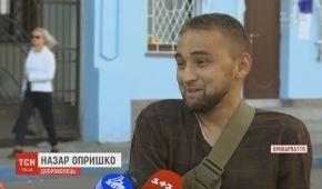 Защитник Донецкого аэропорта Назар Опришко вынужден просить помощи