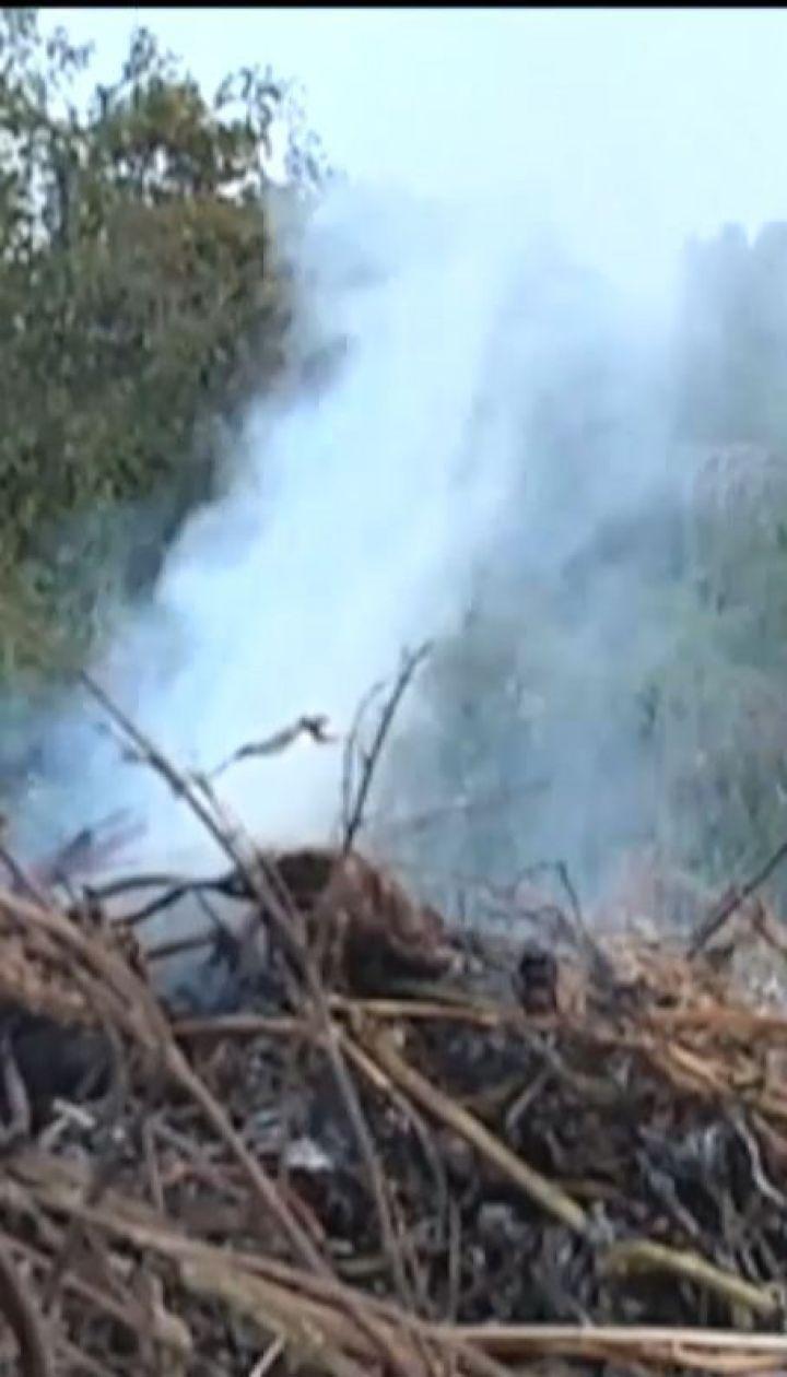 Поліція запускає в небо дрони, аби відслідкувати порушників, які палять листя