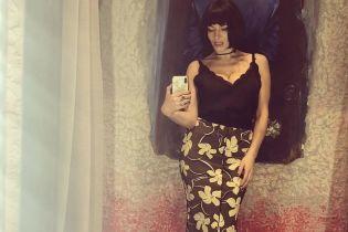 Снова в бельевом топе: Надя Мейхер похвасталась сексуальным образом