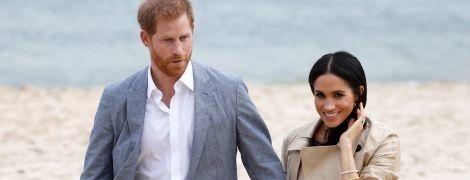 Сменила шпильки на балетки: герцогиня Сассекская и принц Гарри приехали на пляж