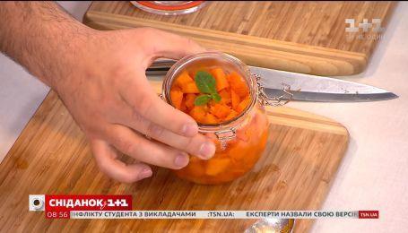 Конфітюр із гарбуза з апельсином - рецепт від Євгена Клопотенка