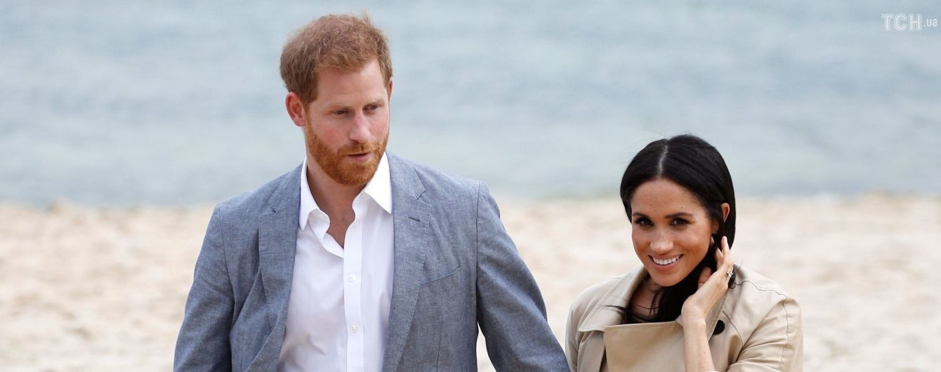 Вагітна Меган вперше без підборів разом з принцем Гаррі з'явилась у Мельбурні
