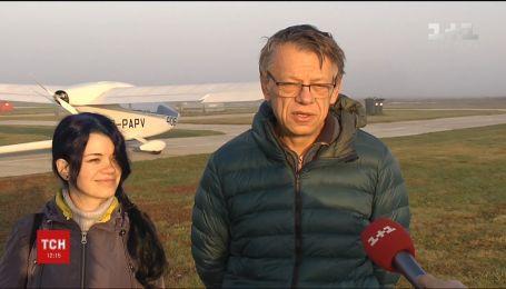 Украинский авиаконструктор с дочерью пытаются установить сразу два мировых рекорда