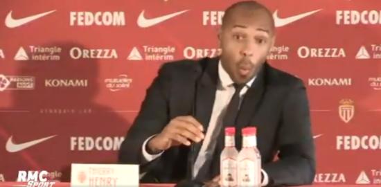 Т'єррі Анрі сконфузився на прес-конференції в Монако через мову