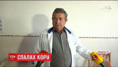 Лікарі та чиновники з'ясовують причини спалаху кору на Прикарпатті