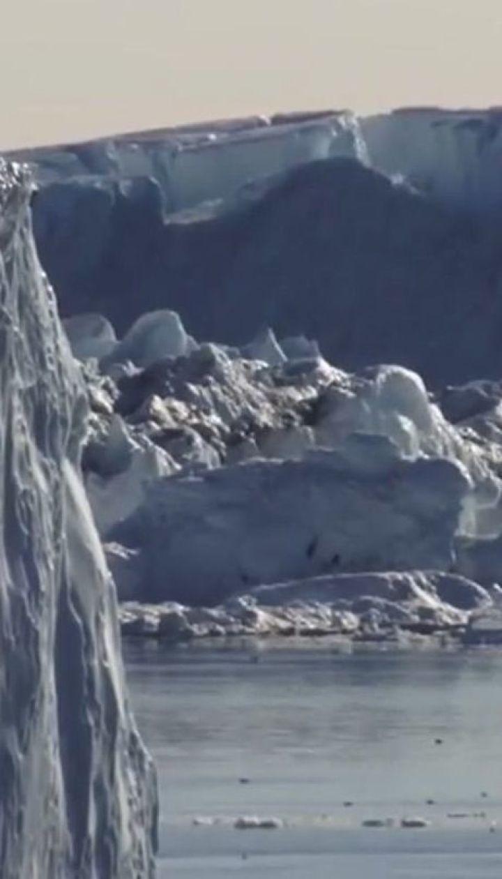 """Ледяная песня. Ученые записали жуткое """"пение"""" ледника в Антарктиде"""