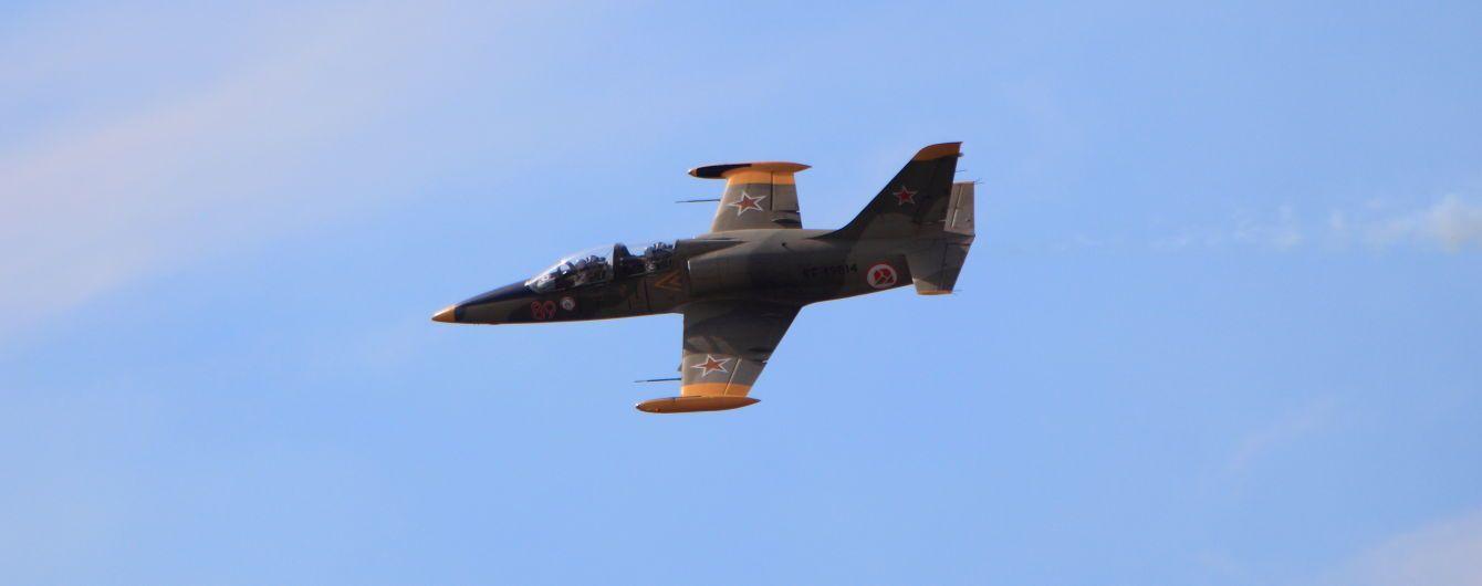 В Росії навчальний військовий літак впав в Азовське море