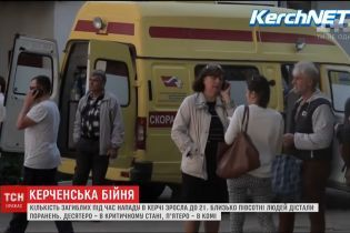 Кількість жертв керченської атаки зросла до 21