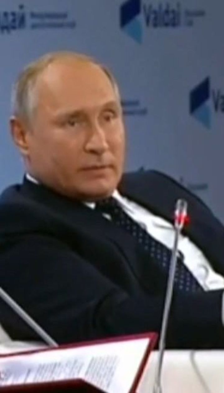 Путін спробував переконати світ у миролюбності, пообіцявши застосувати ядерну зброю