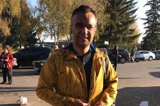 В Полтавской области журналиста Гнапа облили фекалиями