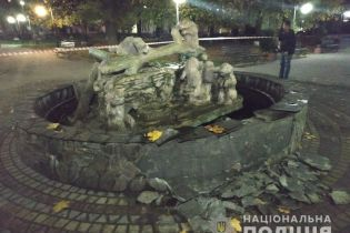 На Львовщине пьяный мужчина подорвал фонтан