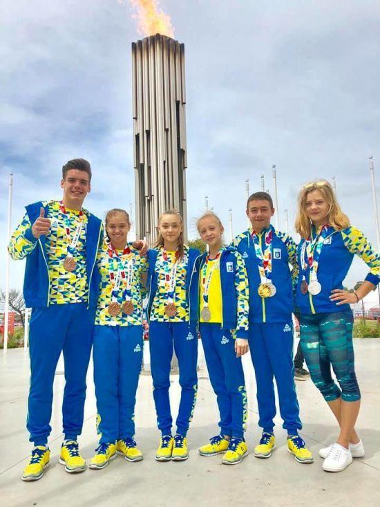 Українці везуть 23 медалі з Юнацьких Олімпійських ігор