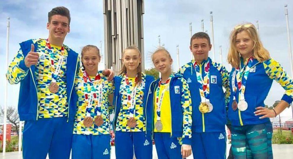 Украинцы везут 23 медали с Юношеских Олимпийских игр