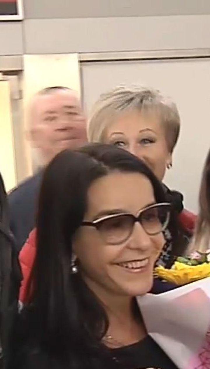В Киев прилетела актриса, сыгравшая рабыню Изауру в известной теленовелле