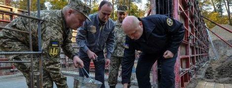 В Украине начали возведение современного разведцентра европейского уровня