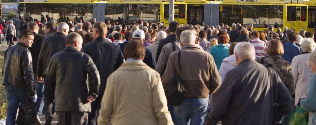 За год количество населения Украины сократилось более чем на 230 тысяч человек – Госстат