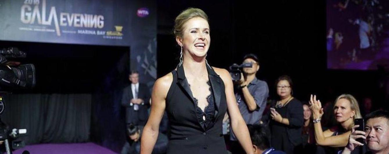 Total black. Роскошная Свитолина узнала соперниц на Итоговом турнире WTA