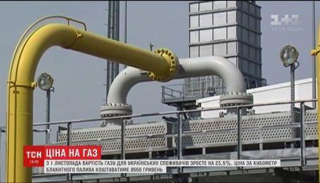 Незабаром ціна на газ для українців зросте майже на чверть