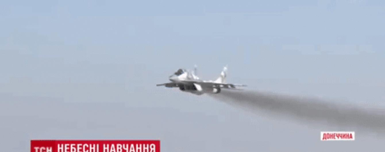 """""""Чисте небо-2018"""": військові льотчики шукали вертоліт МІ-8 над Донбасом"""