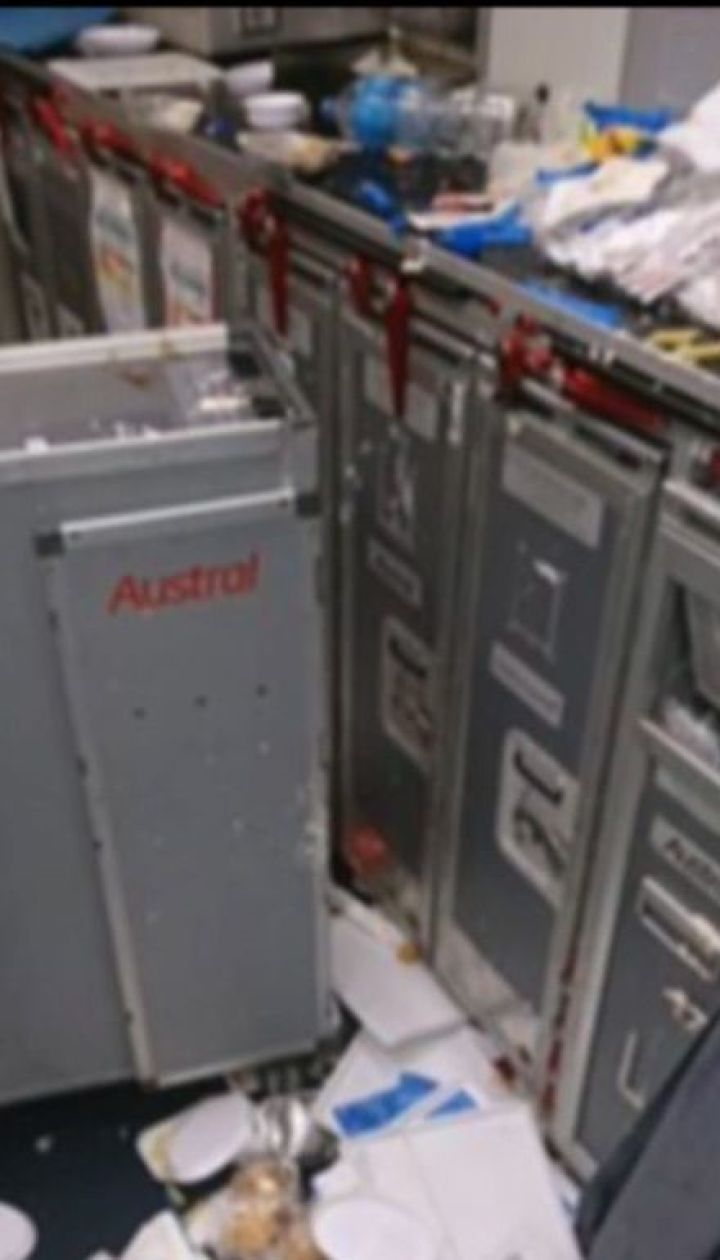 Потужна турбулентність покалічила 15 пасажирів аргентинського літака