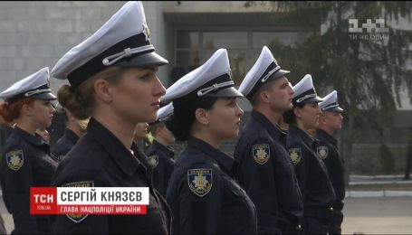 Академия патрульной полиции приветствовала выпускников