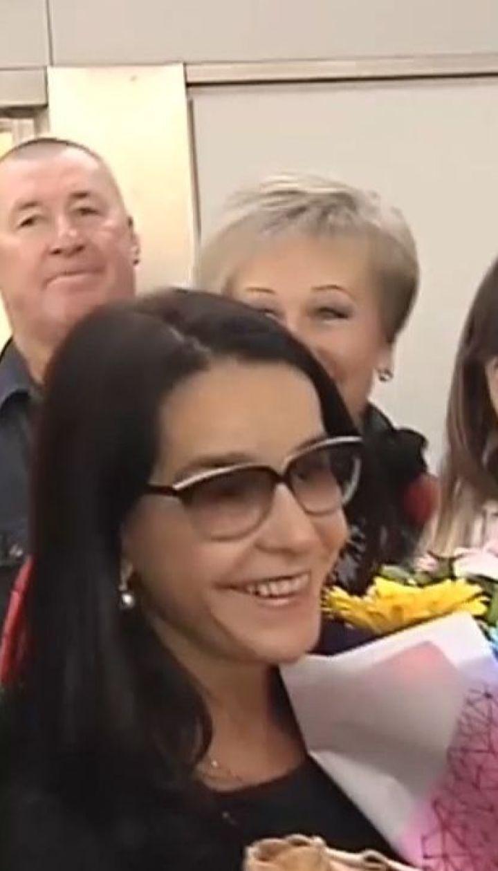 61-летняя актриса, которая сыграла рабыню Изауру, прилетела в Киев