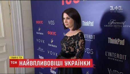 Алла Мазур стала самой влиятельной ведущей Украине
