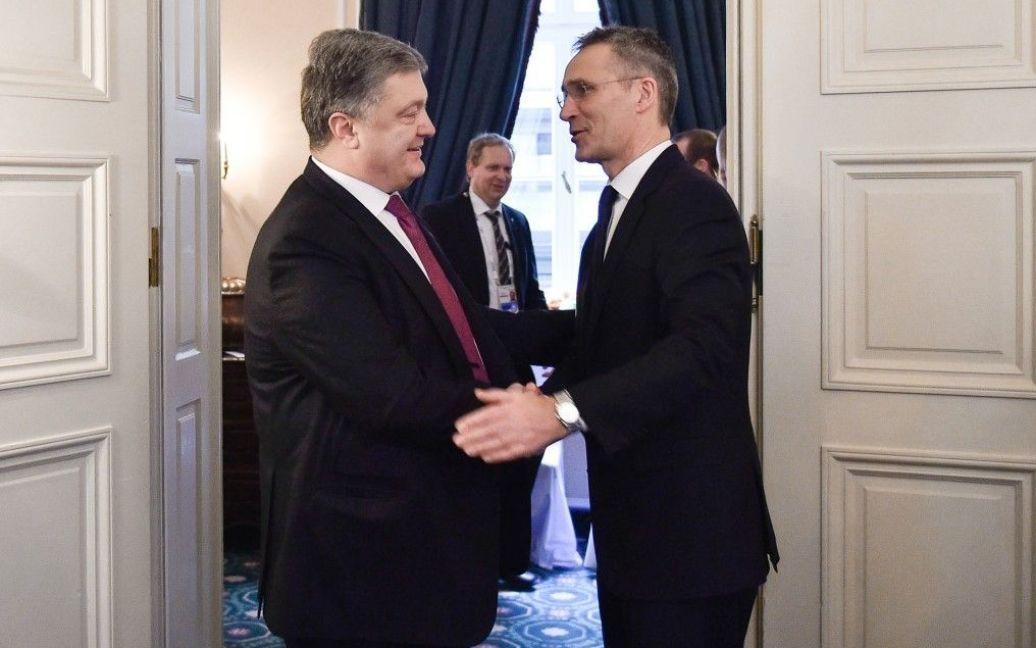 Петр Порошенко и Йенс Столтенберг / © Сайт президента Украины