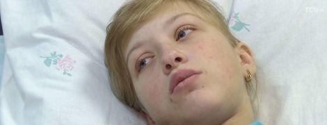 Допомоги потребує школярка Олена, яку спіткала підступна хвороба
