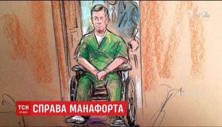 Пол Манафорт появился в суде в инвалидной коляске