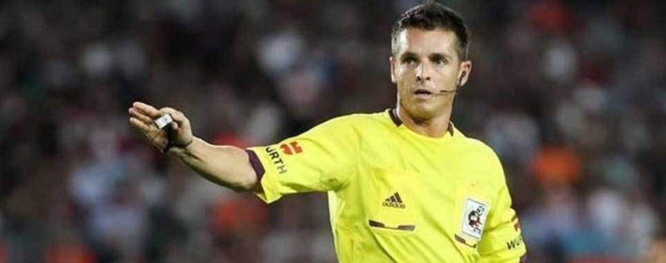 """Поєдинок """"Шахтаря"""" та """"Манчестер Сіті"""" в Лізі чемпіонів довірили арбітру з Іспанії"""