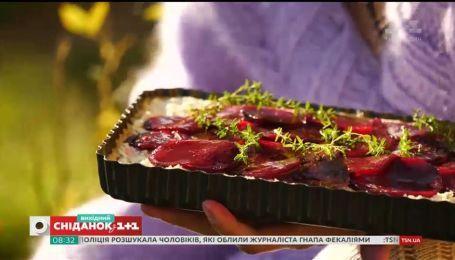Рецепт пирога з сиром фета та буряком від Валентини Хамайко