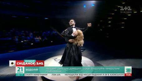 """Сніданок узнавал, как Руслан Сеничкин готовится к эфиру """"Танцев со звездами"""""""