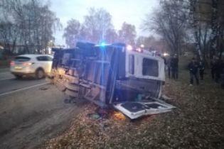 У Росії знову зіткнулися автобус і маршрутка: четверо загиблих