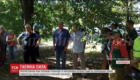 На Харківщині активісти борються проти влади сіл, де знаходяться родовища газу