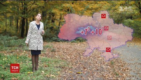 На Украину надвигается похолодание, ветер и дожди