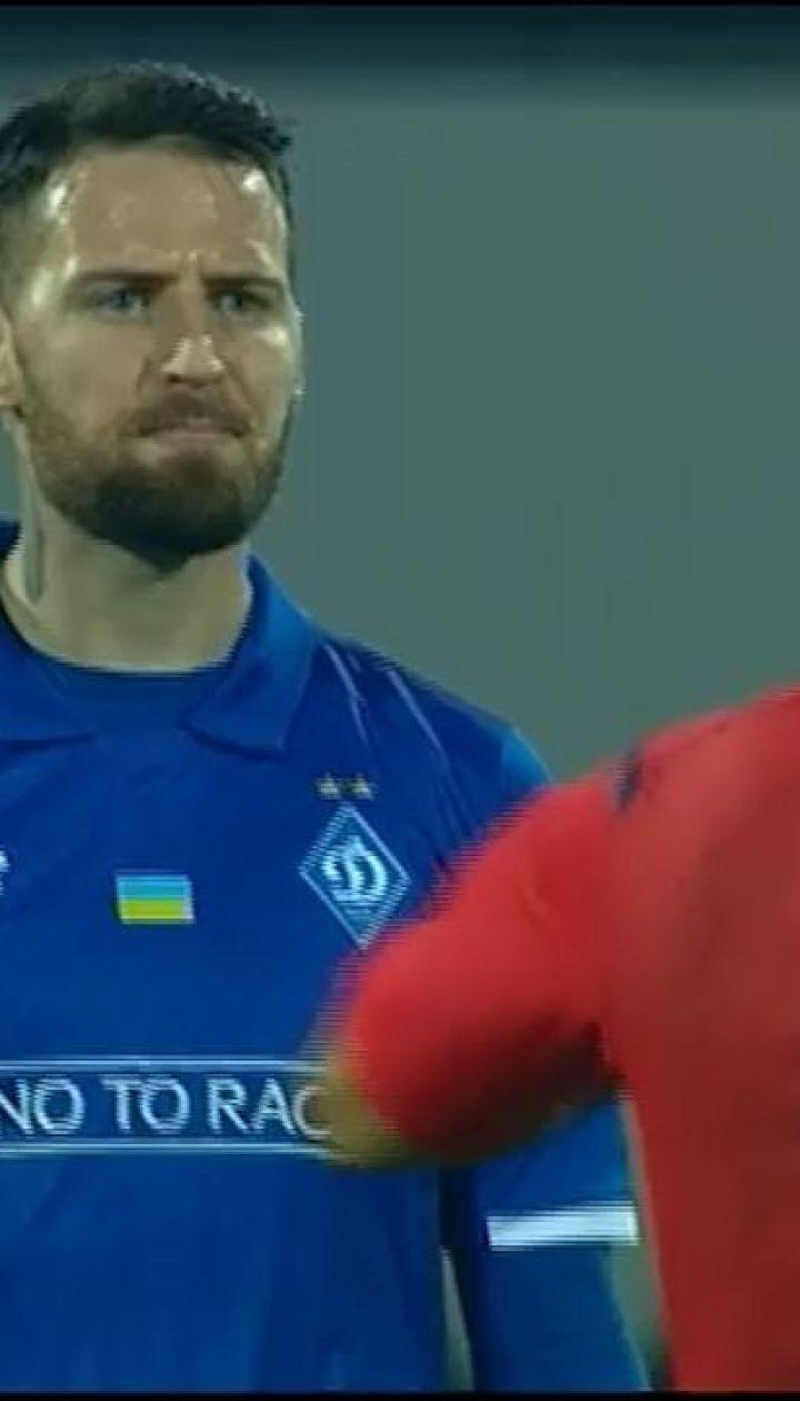 Кадар плюнув у бік арбітра під час матчу Ворскла - Динамо
