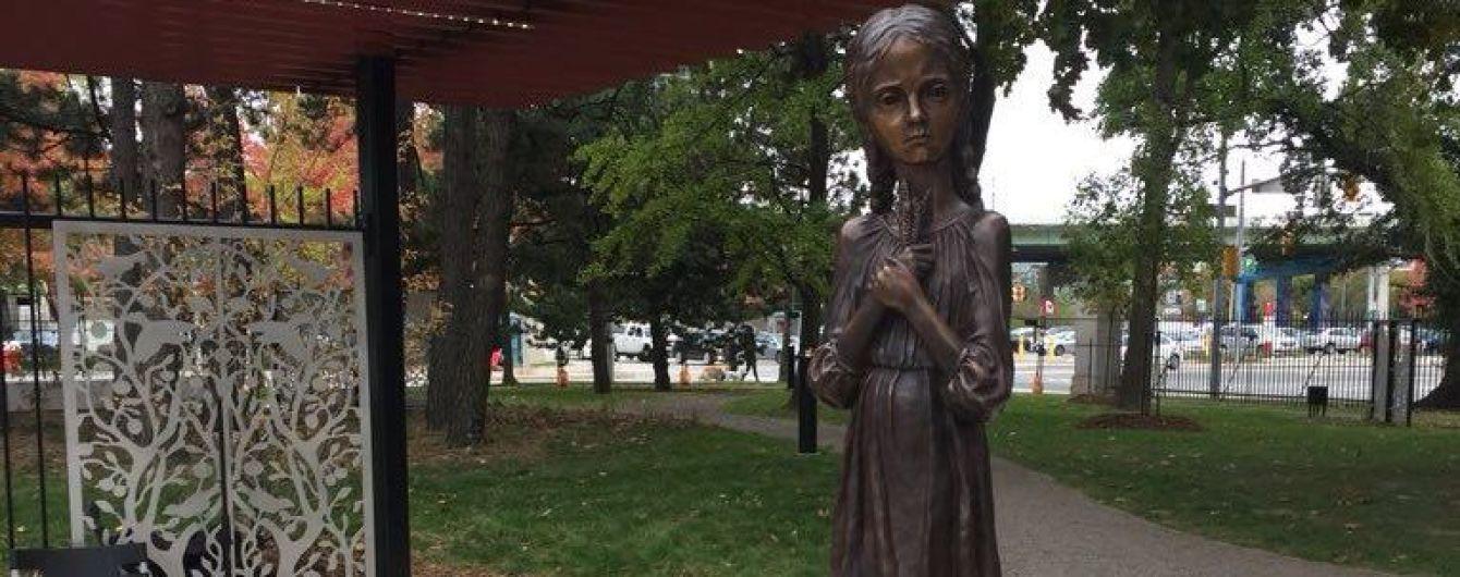 В канадском Торонто появился мемориал жертвам Голодомора