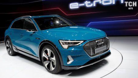 Audi на месяц задерживает старт продаж первого електрокроссовера