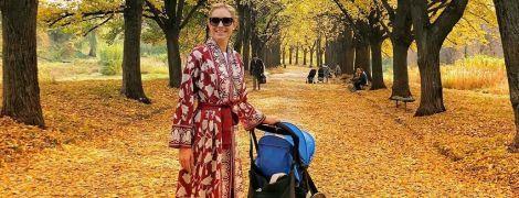Прощавай, бабине літо: Катя Осадча показала, як з сином провела вихідні