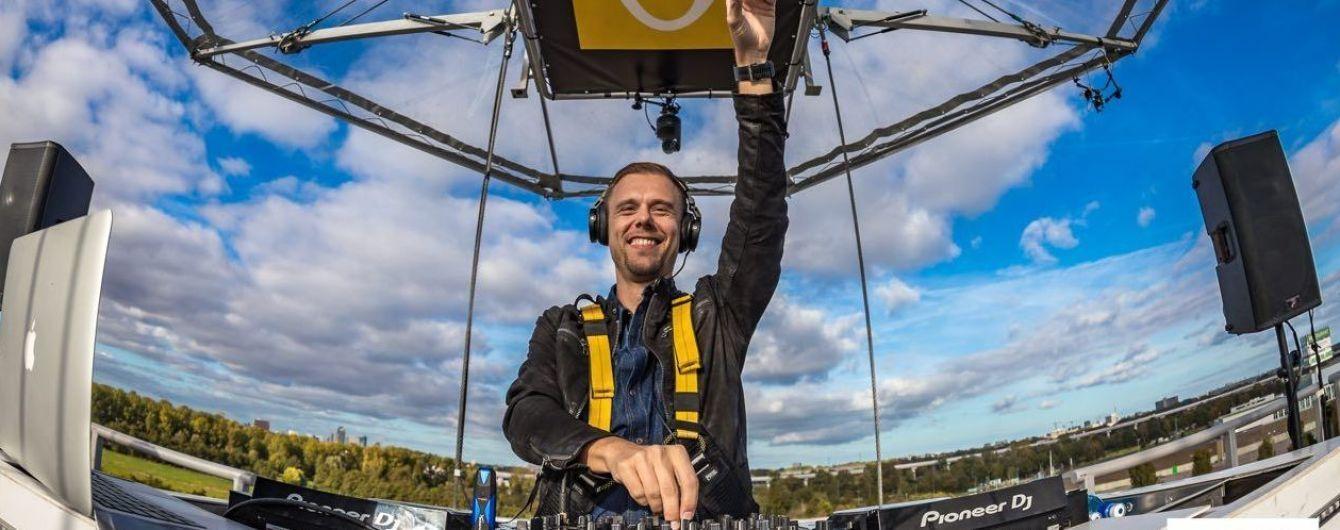 Він повертається: Armin Van Buuren виступить у Києві з грандіозним шоу