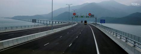 В Китае откроют самый длинный в мире морской мост: интересное о рекордном сооружении. Инфографика