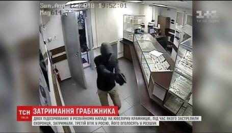 В столице задержали мужчину, который во время разбоя застрелил охранника ювелирного магазина