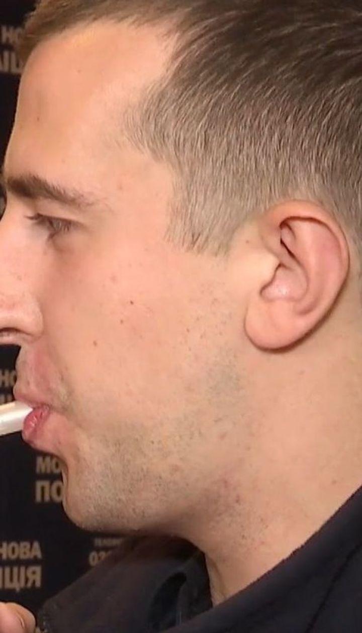 У Львові копи перевіряли, чи може спрей для горла підвищити рівень алкоголю в крові