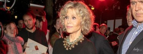 Засветила белье: 80-летняя Джейн Фонда в объективах французских фотографов