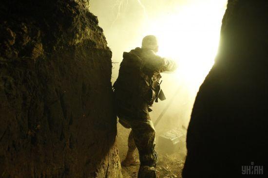 Бійці ООС знищили БМП терористів на Донбасі