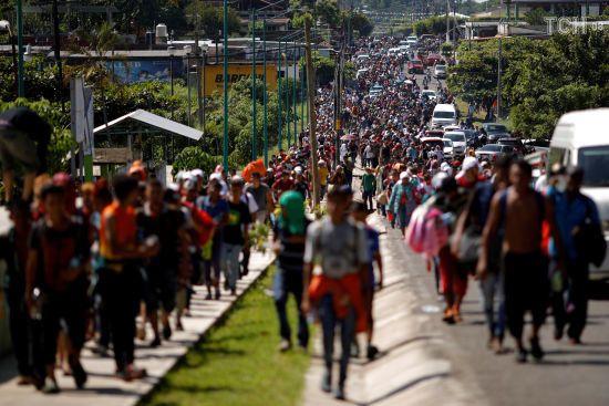 """До США вирушив ще один """"караван мігрантів"""" з Сальвадору"""