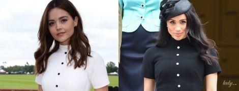 Черное или белое: герцогиня Сассекская и бывшая подружка принца Гарри - Дженна Коулман, носят одинаковые платья